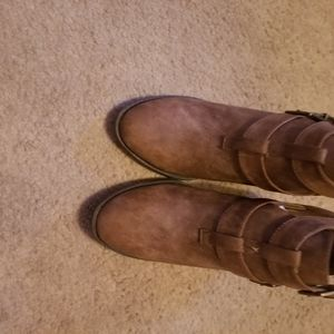 Suede boots size 8.5
